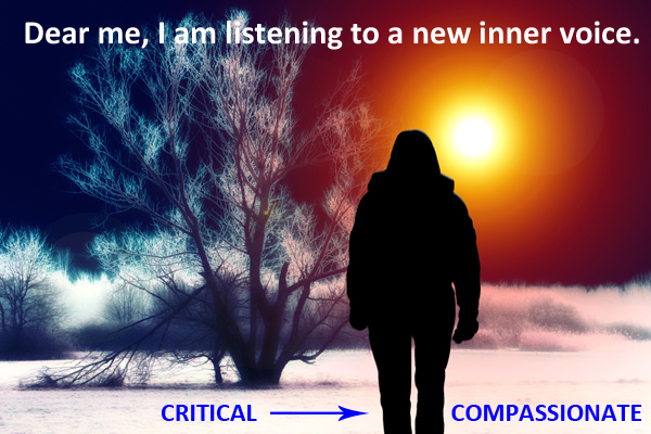 Banishing the inner critic - a different path through life